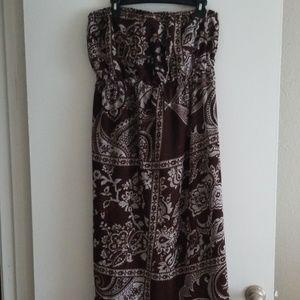 Ashley Stewart Maxi Dress